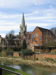The Parish Church and the Great River Ouse